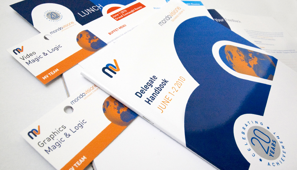 Conference Brochure and related printed designs